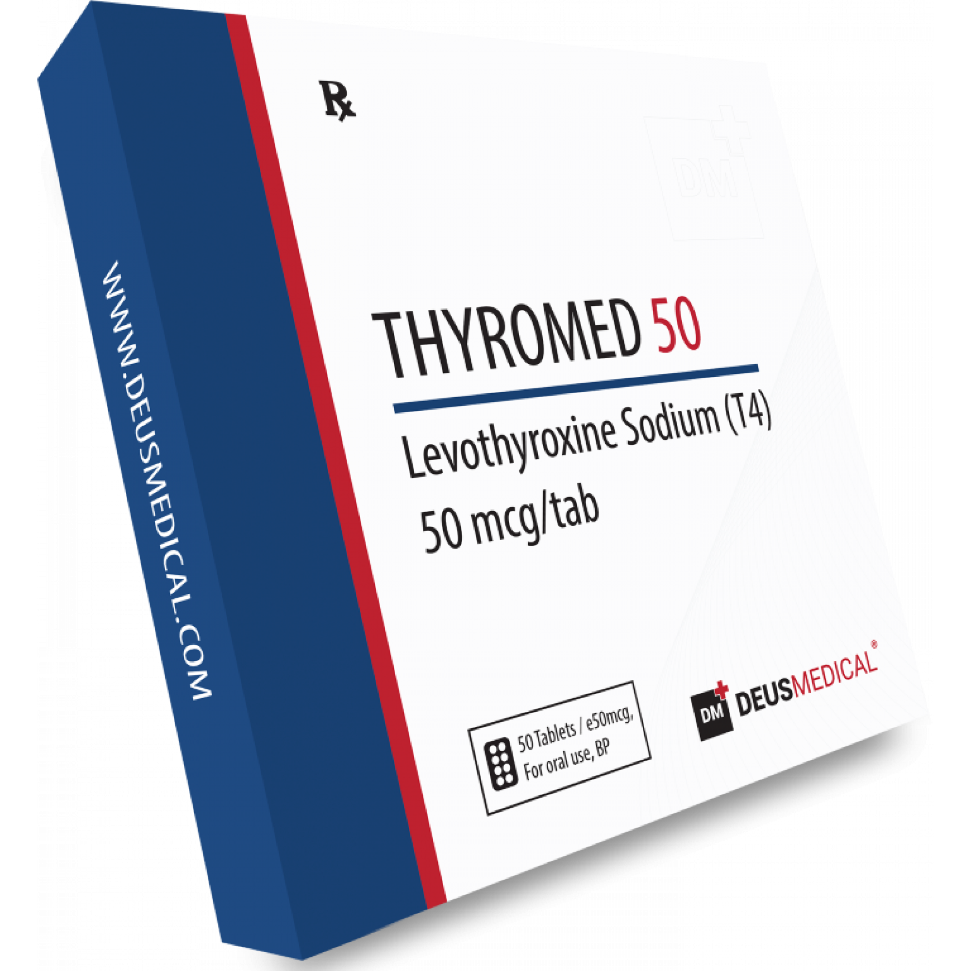 THYROMED 50 (Levothyroxine Sodium (T4))