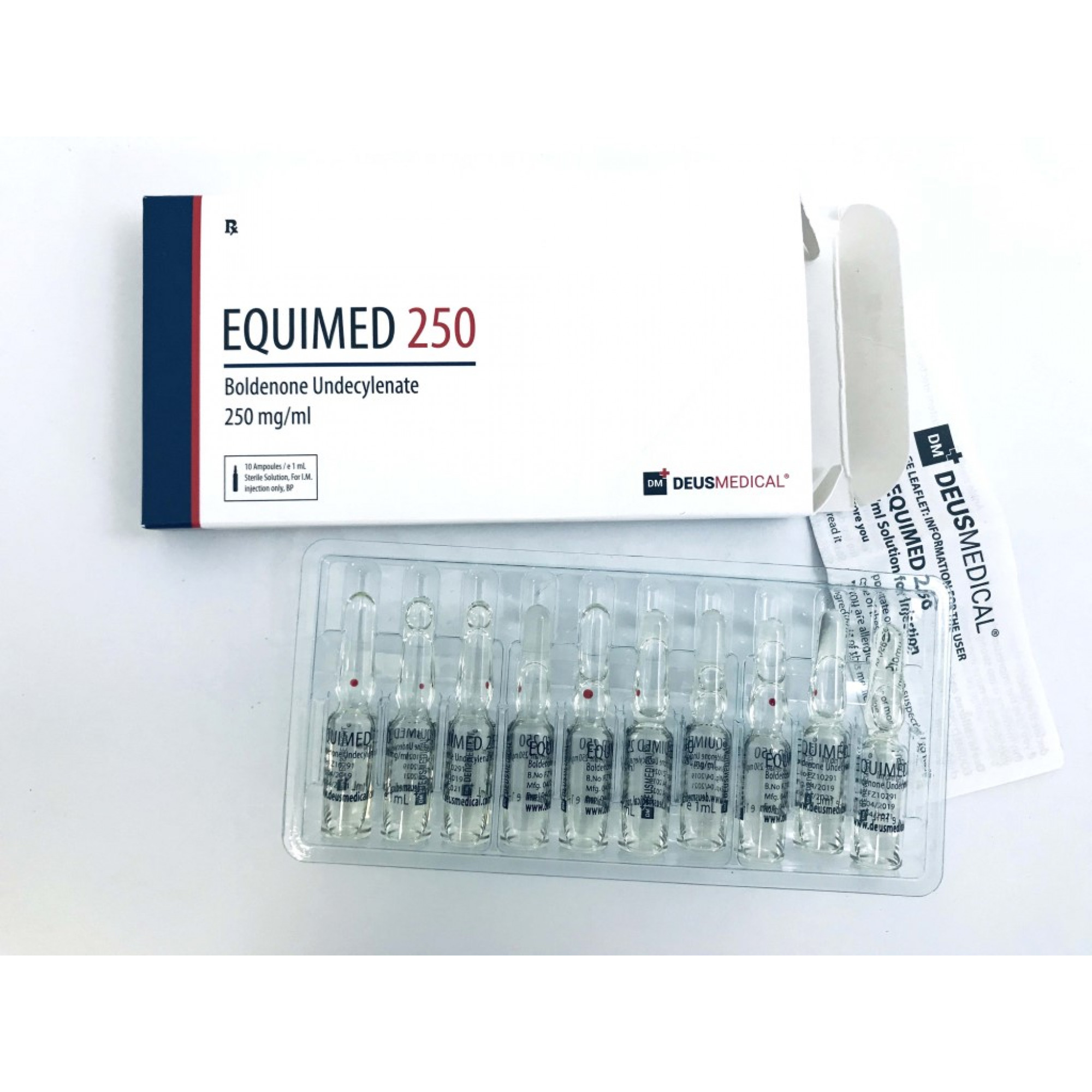 EQUIMED 250 (Boldenone undecylenate), DEUS MEDICAL, BUY STEROIDS ONLINE - www.DEUSPOWER.com