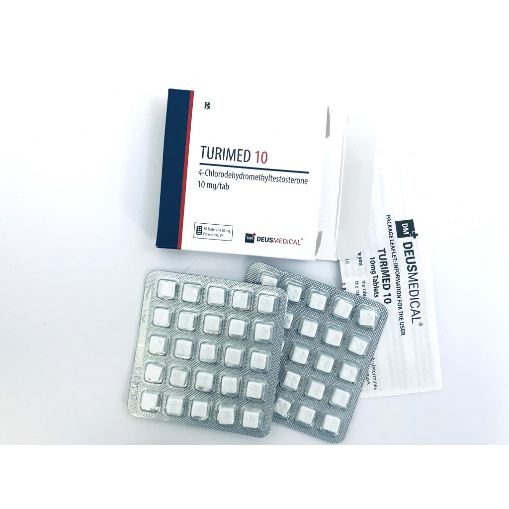 TURIMED 10 (Turinabol), DEUS MEDICAL, BUY STEROIDS ONLINE - www.DEUSPOWER.com