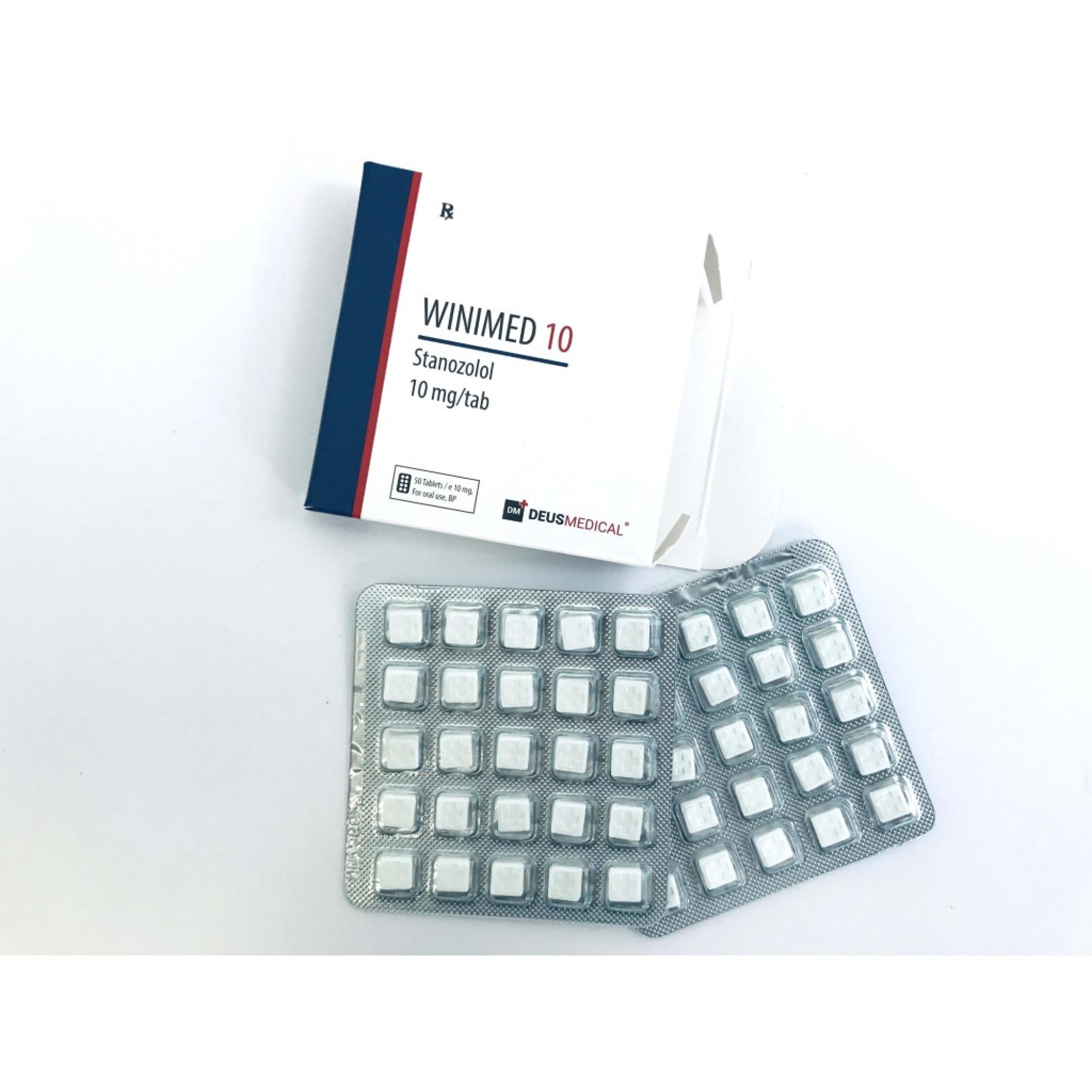 WINIMED 10 (Stanozolol), DEUS MEDICAL, BUY STEROIDS ONLINE - www.DEUSPOWER.com