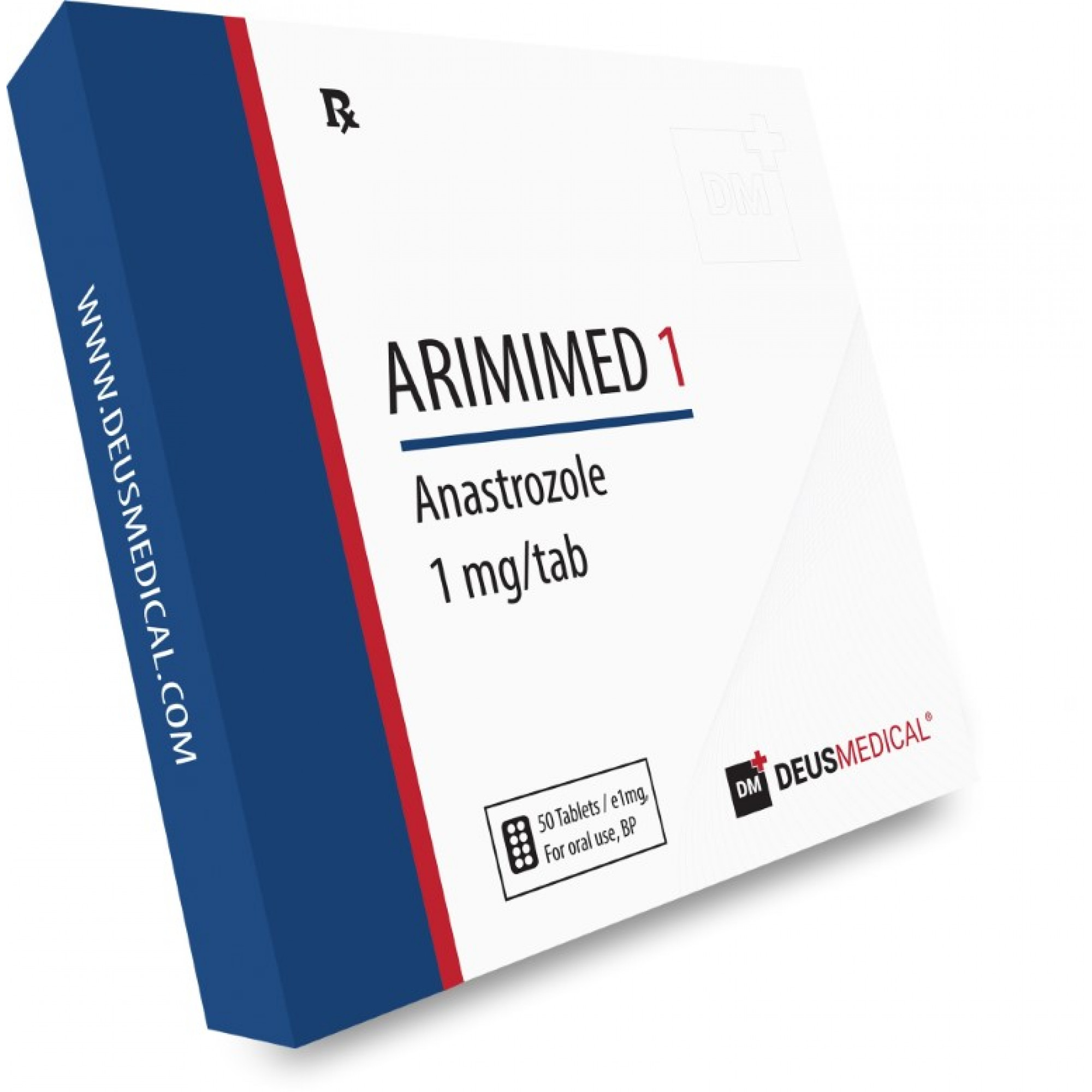 ARIMIMED 1 (Anastrozole), DEUS MEDICAL, BUY STEROIDS ONLINE - www.DEUSPOWER.com