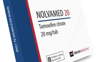 NOLVAMED 20 (Tamoxifen citrate)